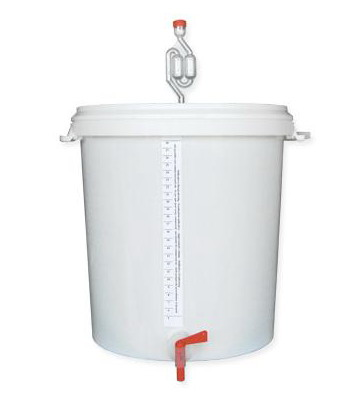 brewing/fermentation bucket BREWFERM 33 l graduate (641)