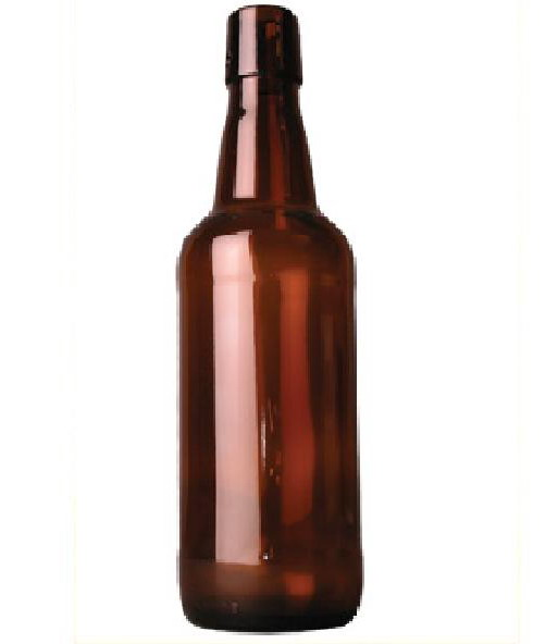 fliptop bottle 50 cl brown, without fliptop, 40 pc (138)