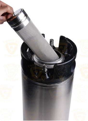 Stainless Keg Dry Hopper Filter hoping 1029
