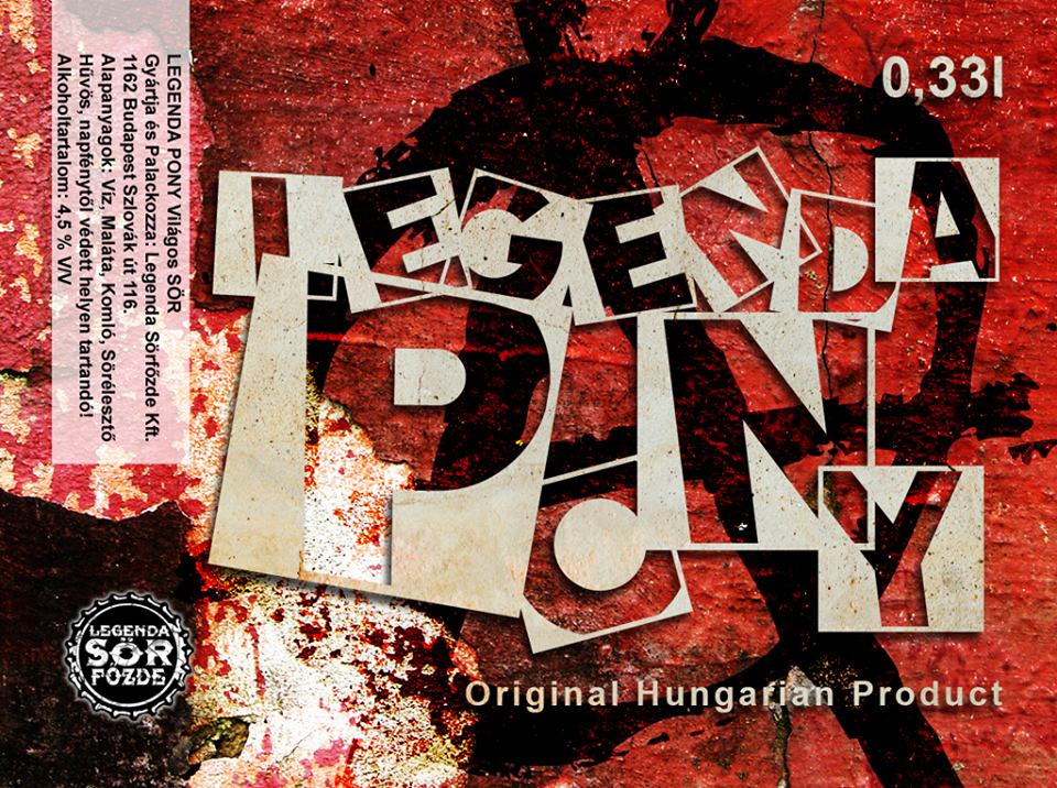 Legenda Pony IPA 0,33L (990 )