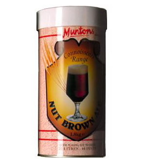 MUNTONS Nut Brown Ale 1.8kg ( 656 )