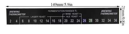 Hõmérõ matrica liquid  crystal 2-36°C (210)