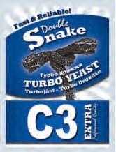 DoubleSnake C3 Turbo élesztőcsomag  (842)
