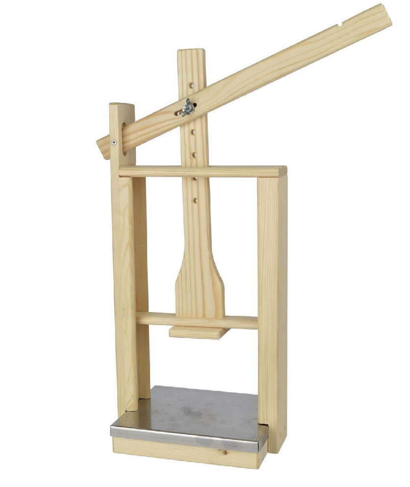 cheese press wood (578)